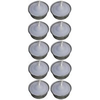 Atorakushon Smokeless Scented Sky Blue Tealight T-Lite Candles For Diwali Birthday Party Pack Of 50