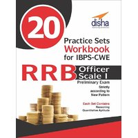20 Practice Sets Workbook for IBPS-CWE RRB Officer Scale 1 Preliminary Exam