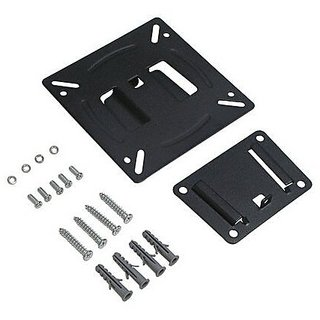 Techvik Fix Wall Mount Stand Bracket Kit for 14 to 24 Inch LED LCD TV TFT