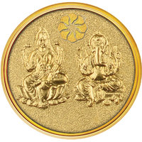 Diwali Special Offer Buy 250mg Do Murti Gold Coin  Get Attractive Silver Stand Free