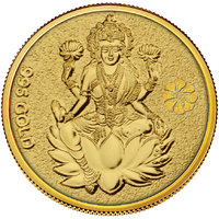 Diwali Special Offer Buy 450mg Laxmi Gold Coin Get Silver Paan Free By Parshwa Padmavati Gold