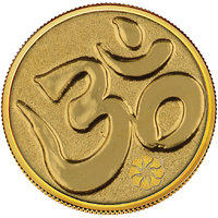 Diwali Special Offer Buy 450mg Om Gold Coin Get Silver Paan Free By Parshwa Padmavati Gold