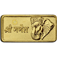 Diwali Special Offer Buy Buy 450mg Lagdi Shree Ganesh Gold Coin  Get Silver Paan Free By Parshwa Padmavati Gold