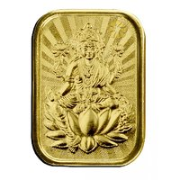 Diwali Special Offer Buy 450mg Gini Laxmi Gold Coin  Get Silver Paan Free By Parshwa Padmavati Gold