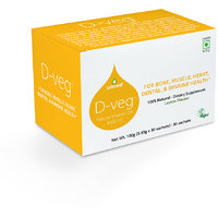 Unived D-veg, Natural & Vegan Vitamin D3, 1000 IU, 30 Sachets