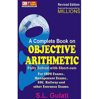 Complete Book On Objective Arithmetic (Paperback)