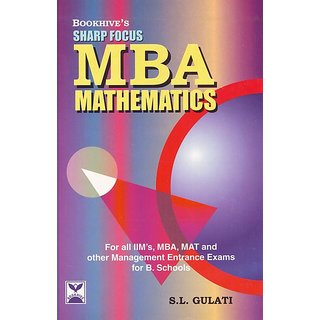Sharp Focus Mba Mathematics (Paperback)
