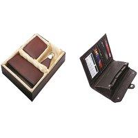 SUSHA Gents Wallet, Ladies Wallet, Key Ring,Passport Holder, Calculator Combo (SS-804SS-843)