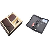 SUSHA Gents Wallet, Ladies Wallet, Key Ring,Passport Holder Combo (SS-805SS-845)