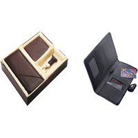 SUSHA Gents Wallet, Ladies Wallet, Key Ring,Passport Holder Combo (SS-805SS-846)