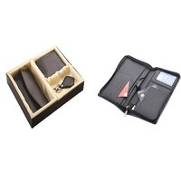 SUSHA Gents Wallet, Ladies Wallet, Key Ring,Passport Holder Combo (SS-806SS-845)