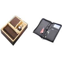 SUSHA Gents Wallet, Ladies Wallet, Key Ring,Passport Holder Combo (SS-807SS-845)