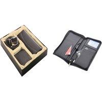 SUSHA Gents Wallet, Ladies Wallet, Gents Belt,Passport Holder Combo (SS-809SS-845)