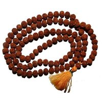 Rudraksh mala with 108+1 mankas/ beads