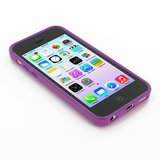 Callmate Solid Bumper Case For IPhone 5C - Purple