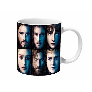 Mooch Wale Game Of Thrones Characters Ceramic Mug