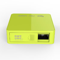 UNIC UC50 DLP POCKET PROJECTOR WITH HDMI/AV/USB/TF INPUTS AND FULL HD SUPPORT