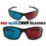 Plastic 3D Glasses Anaglyph Red- Cyan / Blue High Quality Laptop LCD LED TV 3 Three Dimensional