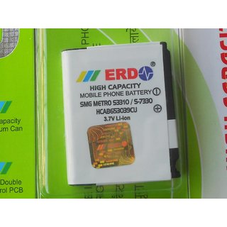 100 % ORIGINAL ERD BATTERY FOR SAMSUNG MOBILES Metro S3310 U800 & U900 MOBILE WITH BILL SEAL PACK & 6 MONTHS MANUFACTURER REPLACMENT WARRANTY
