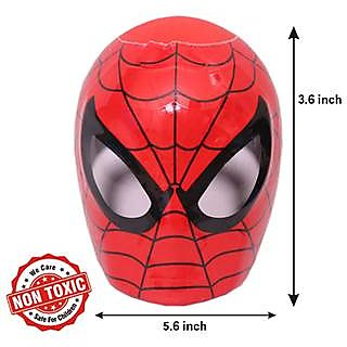 Marvel Ultimate Spiderman Shape Coin Bank
