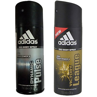 Adidas Deodorants Dynamic Pulse and Victory League Of 150 ML Each (Set of 2) For Men