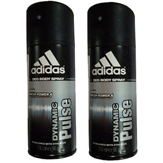 Adidas Deodorants 2 Dynamic Pulse Of 150 ML Each (Set of 2) For Men