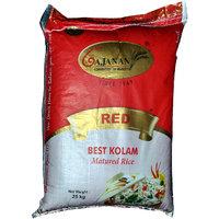 Gajanan Red Best Kolam Rice 25 Kg