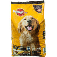 Pedigree Adult Dog Food Meat  Rice 10Kg