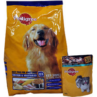 Pedigree Adult Dog Food Chicken  Veg, 1.5 Kg