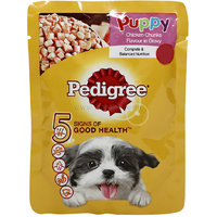 Pedigree Puppy Chicken Gravy Pouch, 80 G
