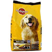 Pedigree Adult Dog Food Meat  Rice 3Kg