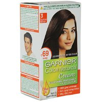 Garnier Colour Natural Hair Colour Shade No.3, Darkest Brown, 24 Ml + 16 G