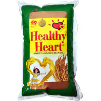 Healthy Heart Rice Bran Oil Pouch, 1 L
