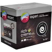 Godrej Expert Hair Color Black Brown Crme, 20 G