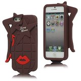 Coolest Sexy Boom Soft Silicone Protective Back Cover Case For Iphone 5 5G 5S