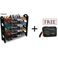 Frazzer Shoe Rack With FREE Multi Purpose Travel Pouch