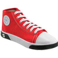 Yepme Stylish Red Canvas Shoes