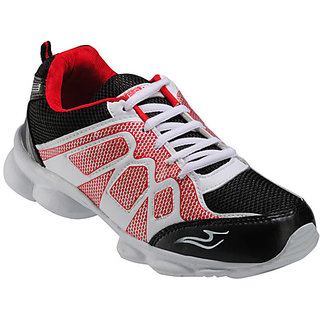 Yepme Brisk Sports Shoes - Black & Red