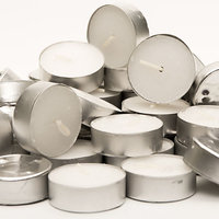 Tealight Candles White (Pack Of 50 Pieces)