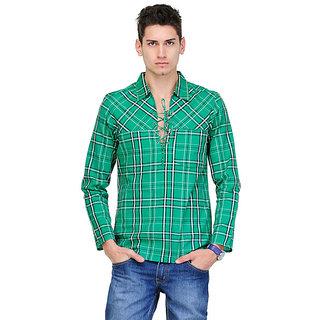 Yepme Ryan Kurta Shirt - Green
