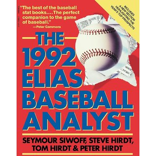 Elias Baseball Analyst 1992