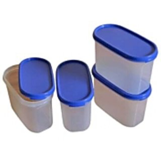 14e59f5a81e Tupperware Modular Containers Set Of 4 Mm Oval 2 available at ShopClues for  Rs.1199