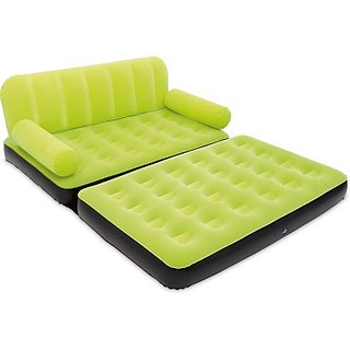 Skyshop - Pvc 3 Seater Inflatable Sofa (Color - Green)
