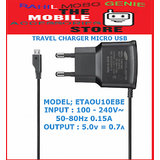 Micro USB Travel Charger For Samsung Micromax Karbon Mobiles