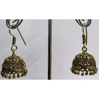 Antic Small Drop Jhumka Earring