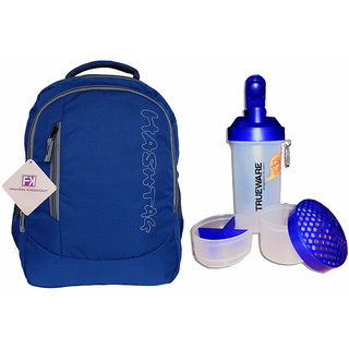 Cloudy Blue Backpack With Combo Offers 11010Hashtagcb1021C6-A