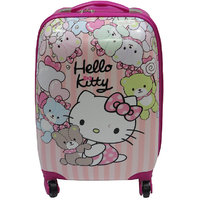 16inch Kids Hello Princess Kitty Traveling Trolly Bag - Pink 105