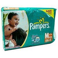 Pampers Diapers Medium, 66 U