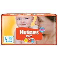 Huggies Care Diapers Large, 28 U