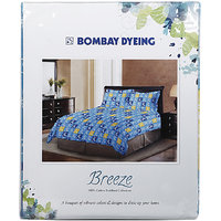 Bombay Dyeing Double Bed Sheet Breeze, 224 Cm X 254 Cm
